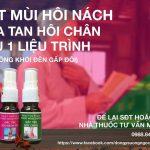 Bán Thuốc Trị Hôi Nách – Hôi Chân – Giảm Mùi Hôi Cơ Thể